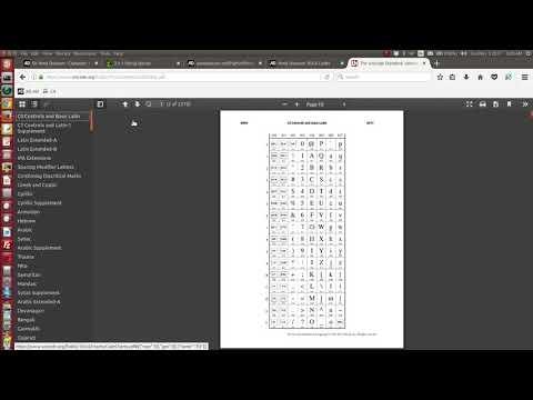 Python Escape Sequences  https://docs.python.org/2.0/ref/strings.html