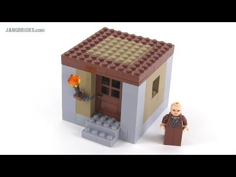 LEGO Minecraft small villager house MOC