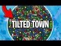 LA PIRE FIN DE ZONE À TILTED TOWN! (Saison X) 🔥 LE MEILLEUR DE FORTNITE #195