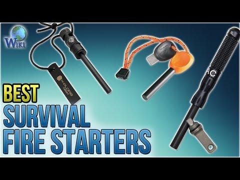 10 Best Survival Fire Starters 2018