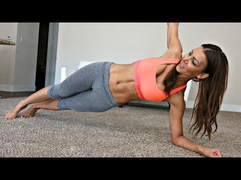Bikini Butt and Slim Stomach Workout!