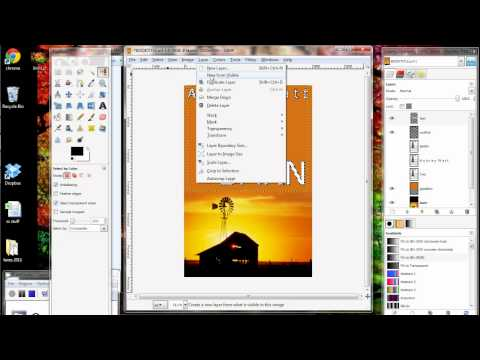 GIMP_Fun_With_Text_Tutorial_for_eBook_Covers.avi