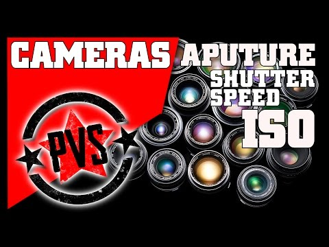 DSLR Tips: Aperture, Shutter Speed, ISO