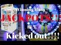 Winning Many JACKPOTS but Kicked out! (nakakahiya) | lance gutierrez