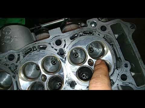 Pt 5 (removing carbon build up off cylinder head)