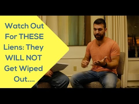 What Liens WON'T Get Wiped With Tax Lien or Deed Purchases? Watch this...