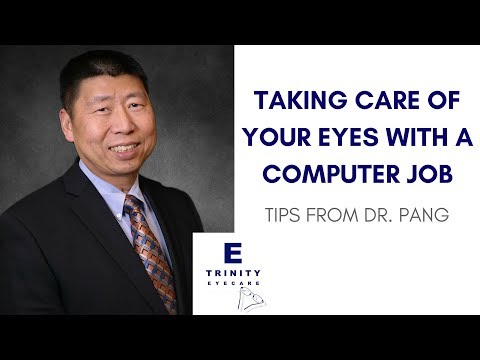 How Can I Take Care of My Eyes if My Job Requires Me to Stare at a Screen? | Dr. Albert Pang