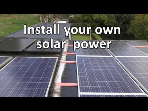 Install Your Own Solar Power