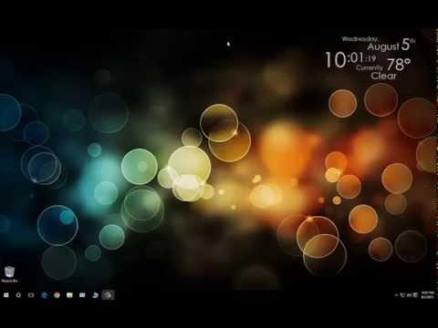 Tutorial  - Windows 10 Upgrade and Intro
