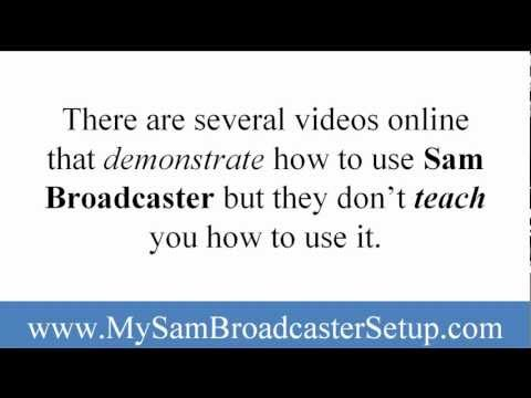 How To Create Your Own Online Radio Station With Sam Broadcaster