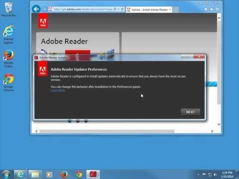 How to install Adobe Reader