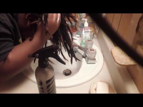 My loc wash routine / Loc Wash Day #3!!!!!