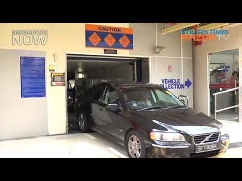 Mechanised parking in HDB estates by end 2012?