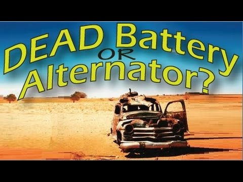 Car won't start Battery or Alternator? Find out!