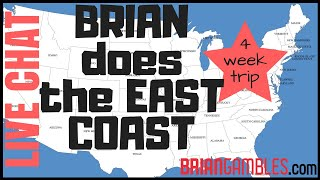 Get ready East Coast, Brian is coming for you! 🔴LIVE STREAM CHAT w Brian Christopher
