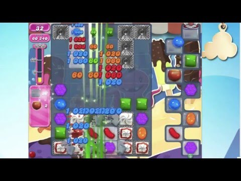 Candy Crush Saga Level 1745  No Booster
