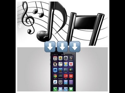 How To Put Songs Onto Your iPhone or iPod for FREE!!! (Very Easy)