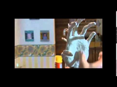 How to make hands from paper mache Part 2