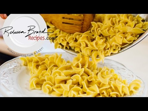 The Basics of Making Plain Pasta - How to Boil Pasta EXACT TIMES and METHODS