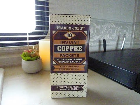 Trader Joe's Instant Coffee Packets