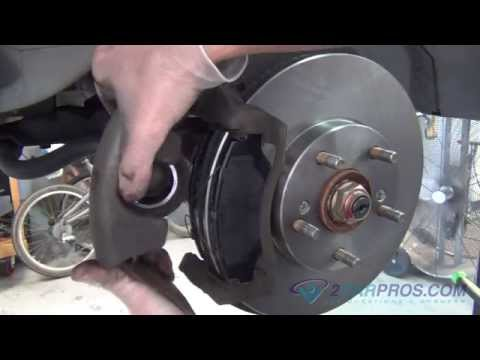 Front Brake Pads & Rotor Replacement Honda Element 2003-2011