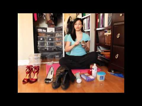 How to: CLEAN AND STORE YOUR SHOES