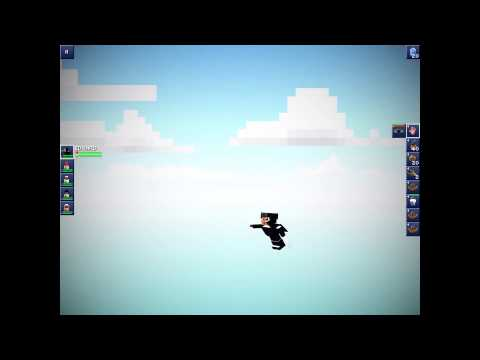 The Blockheads: Jetpack Runs Out of Fuel Flying to Space