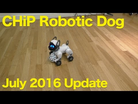 CHIP Robotic Dog from WowWee, July 2016 Update, Voice Control Demo