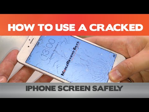How to use your iPhone safely with a cracked screen - Tips & Tricks
