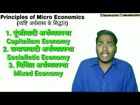 Types of Economic System - Capitalist Socialist and Mixed Economy by Sanjeev Kumar