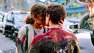 Peter Parker and MJ kiss Scene   SPIDER-MAN FAR FROM HOME (2019) Movie CLIP 4K