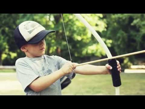 How to Make a Kids Bow and Arrow