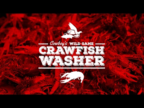 Cowboy's Crawfish Washer - Demo