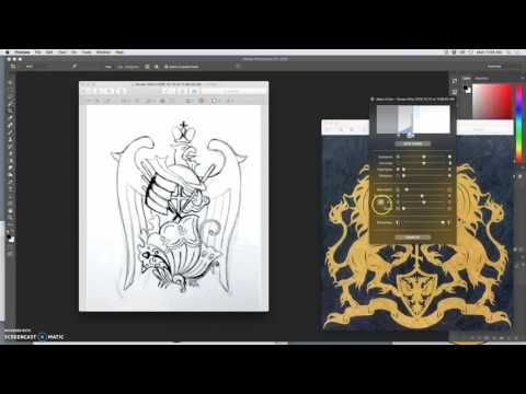 1  Sketching For Logo Design a Family Crest