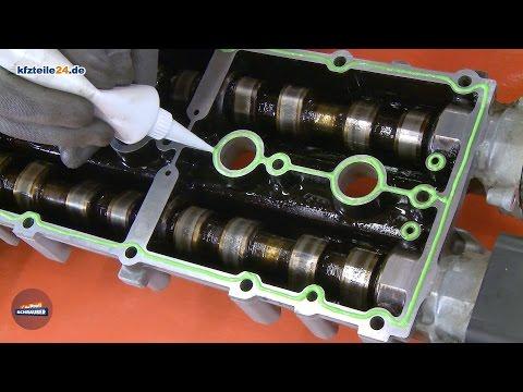 Gehäuse der Nockenwelle abdichten - VW Golf IV 1.4 16V [TUTORIAL]