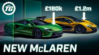 FIRST LOOK: New McLaren Artura V6 hybrid supercar - a P1 for £1m less?