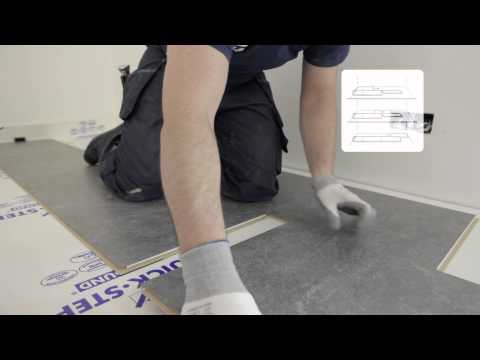 How to install a Quick-Step Exquisa Laminate floor