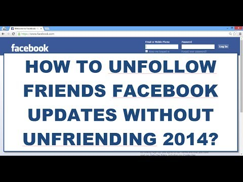 HOW TO HIDE/BLOCK/UNFOLLOW FRIENDS FACEBOOK POSTS/UPDATES WITHOUT UNFRIENDING 2014?