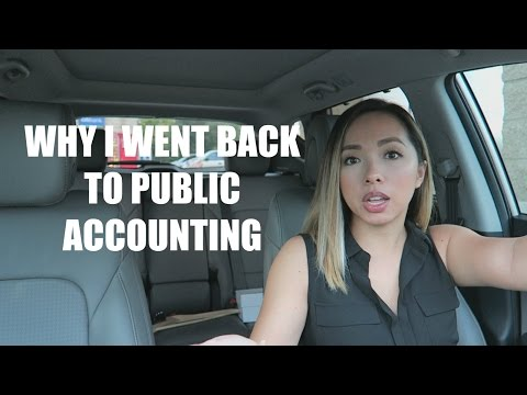 CAR CHAT | Why I Went Back Into & Stayed in Public Accounting | Big 4 ➡ Industry ➡ Mid-Tier Firm