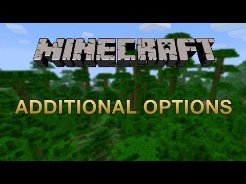Minecraft Mods - Additional Options Mod (Minecraft 1.2.3)