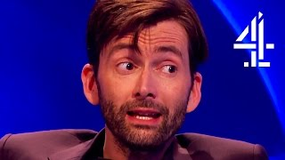 David Tennant Creeps Everyone Out With His English Villain Accent | The Last Leg