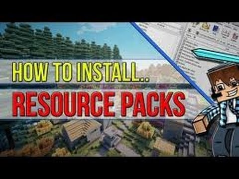 How To Install Recource Packs [Texture Packs] Minecraft 1.6.2