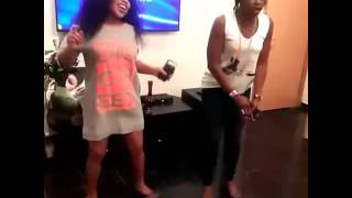 Nollywood star, Rita Dominic celebrated her 41st birthday on Tuesday, July 12 with a small party that was only attended by close friends and associates.   After comic rapper Falz and actress Ruth Kadiri sang the birthday song. Rita Dominic and her pal, Kate Henshaw hit the centre stage of the sitting room for the birthday dance.