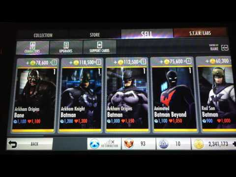 Injustice Gods Among Us Unlimited Coins Glitch