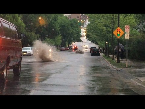 May 17, 2017 Flash Flooding in St Paul