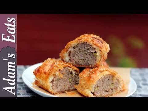 Sausage rolls with fennel seeds and sage