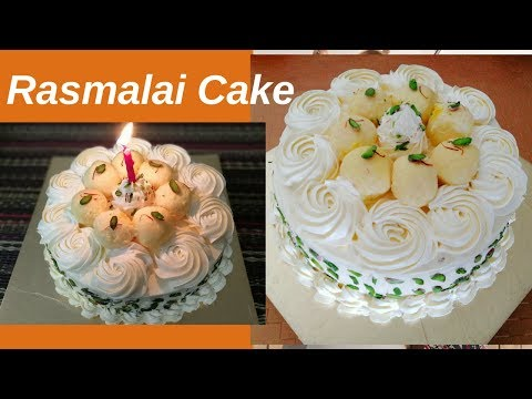 Eggless Rasmalai Cake   Perfect For Beginners   Step By Step Recipe - Food Connection