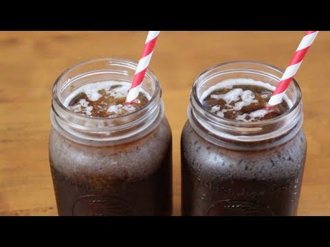 2 ingredient Root Beer Slushies | SweetTreats