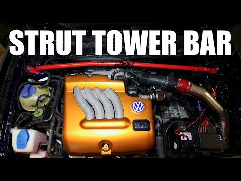 How to Install a Tower Strut Bar
