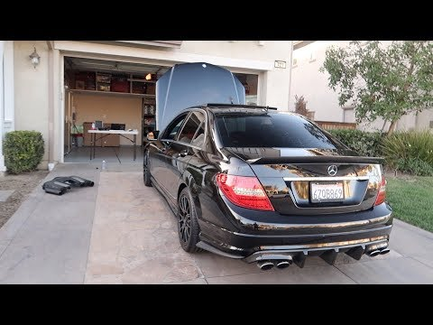 How to Clean MAF Sensor, Throttle Body and Fixing Rough Idle. Mercedes Benz C300 w204